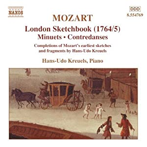 Mozart: London Sketchbook (1764/5) - Completions of earliest sketches & fragments