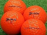 【Aランク】【ロゴなし】SRIXON(スリクソン) Z-STAR XV パッションオレンジ 2013年モデル 12個セット【ロストボール】