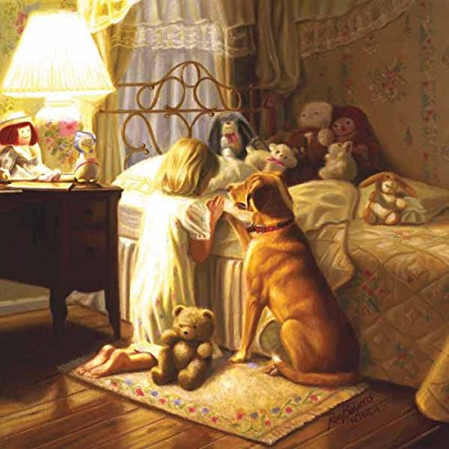 Bedtime Prayer a 500-Piece Jigsaw Puzzle by Sunsout Inc.