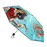 BioWorld Womens DC Comics Wonder Woman Compact Umbrella
