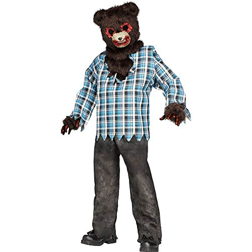 Psycho Teddy Bear Kids Costume