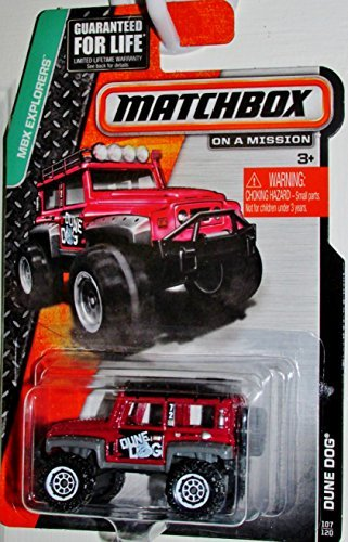 Matchbox MBX Explorers - Dune Dog 107/120 - 1