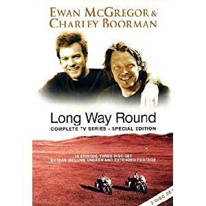 Long Way Round (3 Disc 10 Episode Special Edition) - Import Zone 2 UK (angl