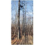 Rivers Edge P2200 22'4 Adjustable Seat Hunting Treestand w  Warranty by Leverage