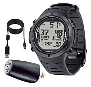 Buy Suunto D6i Dive Watch with LED Transmitter & USB PC Download Kit, (Closeout) by Suunto