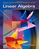 img - for Student Solutions Manual for Poole's Linear Algebra: A Modern Introduction, 2nd book / textbook / text book