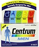 Centrum Multivitamins for Men - Pack of 30