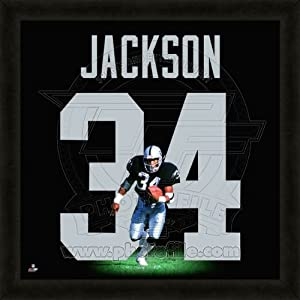 Amazon.com : Bo Jackson Oakland Raiders No. 34 - NFL Framed Uniframe