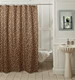 "@home Leopard Shower Curtain - 70""x78"", Brown"