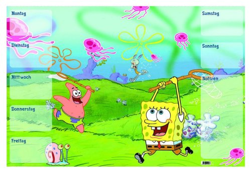 viacom-45207-spongebob-desk-pad