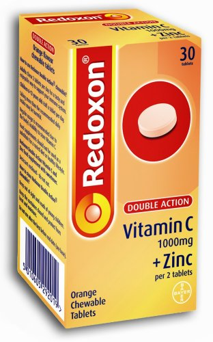 Redoxon Double Action Vitamin C & Zinc  30 Chewable Tablets