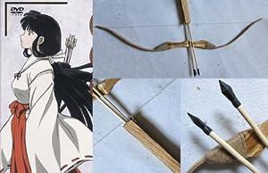Dream2reality Cosplay Inuyasha Kikyou bow and arrow Wood Bamboo