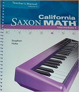 Math saxon intermediate 5 pdf