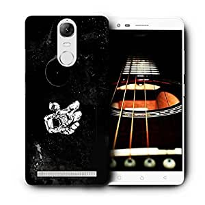 Snoogg Astronaut Printed Protective Phone Back Case Cover For Lenovo K5 Note