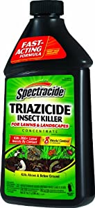 Spectracide 95829 Triazicide Once and Done! Insect Killer, 32-Ounce Concentrate