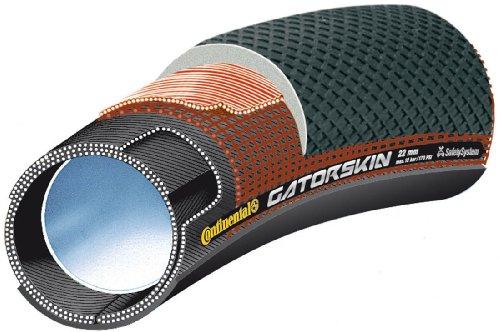 Continental Sprinter Gatorskin Duraskin Bike Tire, Black, 28-Inch x 25mm (Tire Gatorskin compare prices)