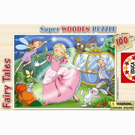 Educa Super Wooden Puzzle Fiary Tales