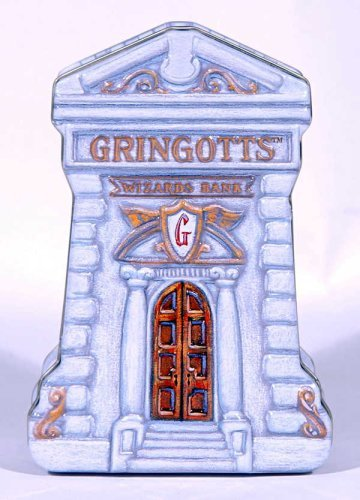 HARRY POTTER GRINGOTTS WIZARDS TIN BANK - 1