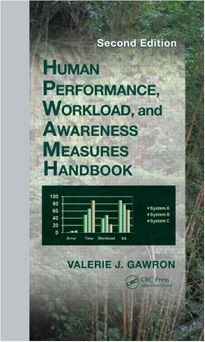Human Performance, Workload, And Situational Awareness Measures Handbook, Second Edition