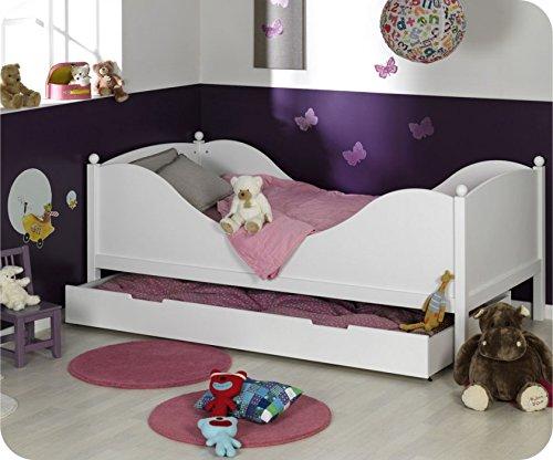Kinderbett Couleur weiß 90x190cm jetzt kaufen