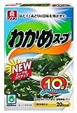 リケン わかめスープ わくわくファミリーパック (6.4g×10袋入)×5個