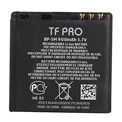Tfpro-BP-5M-900mAh-Battery-(For-Nokia)