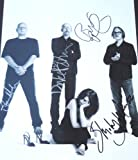 Garbage Autographed 11x14 Photo - FREE SHIPPING - signed by Shirley Manson, Duke Erikson, Steve Marker, and Butch Vig