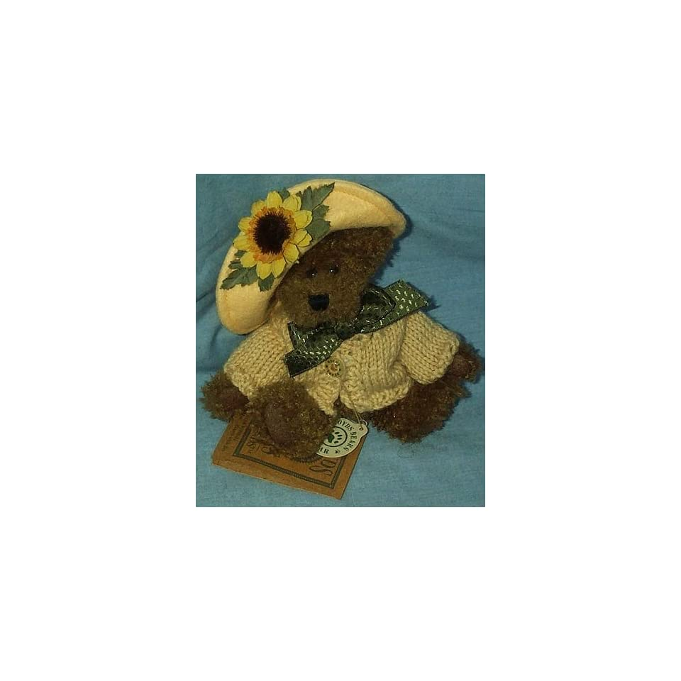 Boyds Bears & Friends Flora MaeBloom with Joy 5 Plush Bear