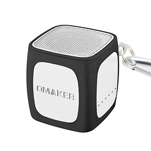 [Most Powerful Pocket Size Bluetooth Speaker Ever] Omaker W4 Portable Bluetooth 4.0 Speaker with 12 Hour Playtime,Ultra Compact,Outstanding Sound