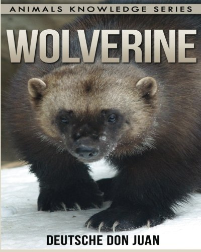Children Book About Wolverine <br>Animal Knowledge Series