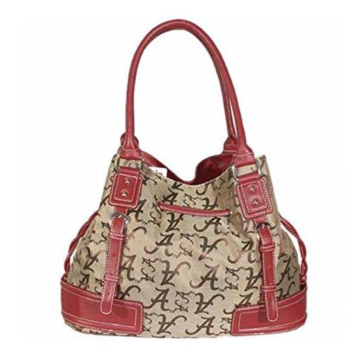 NCAA Alabama Crimson Tide Endall Signature Handbag, Small