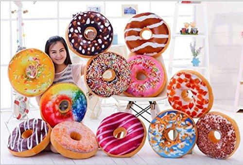 YunNasi-Diamtre-40cm-Coussin-Donut-Oreiller-et-Peluche-de-Dessert-Coussin-de-Chaise-Divers-Sortes--Choisir-Dcoration-au-Canap-Color-Gteau-Doux