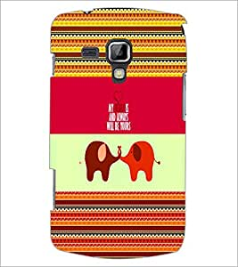 PrintDhaba Quote D-5069 Back Case Cover for SAMSUNG GALAXY S DUOS S7562 (Multi-Coloured)