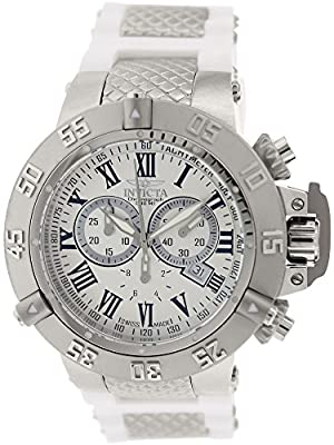 Invicta Men's 16876 Subaqua Analog Display Swiss Quartz White Watch