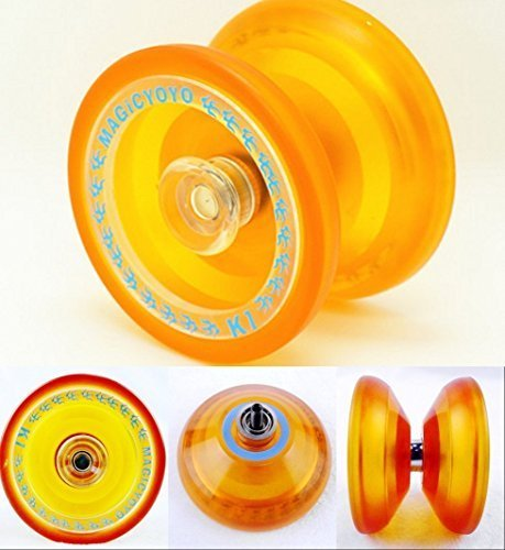 2014 the Latest New K1 PVC Professional Yoyo Toys Orange