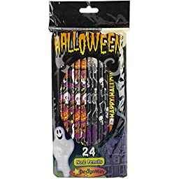Designway Products Halloween Pencils (24 Pack)