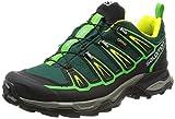 Salomon Herren Wanderschuhe X Ultra 2 GTX Green Black/Black/Gecko Green 43 1/3