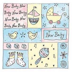 Baby Box - Rubber Stamps - 1