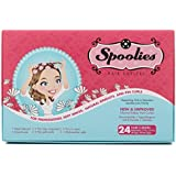 Spoolies Hair Curlers, Playful Pink - 24 Count