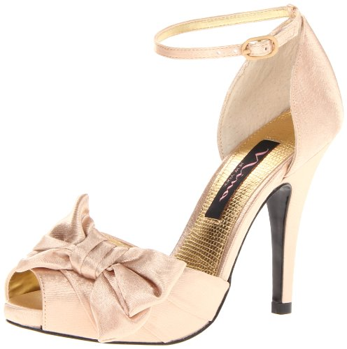 prom heels gold