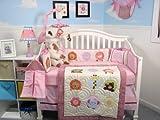 SoHo Lollipop Jungle Baby Infant Crib Nursery Bedding Set 10pcs