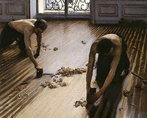 """Reproduction d'Art: Gustave Caillebotte """"Les Raboteurs de Parquet"""" 70 x 56"""