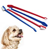 Pet Double End Dental Toothbrush Pet Dog Grooming Toothbrush