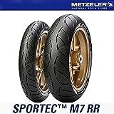 タイヤ メッツラー METZELER SPORTEC M7 RR 前後タイヤ 120/70ZR17 (58W) TL 190/50ZR17 (73W) TL スポルテック