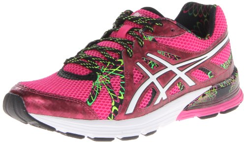 ASICS Women's Gel-Preleus Running Shoe,Hot Pink/White/Hot Pink,7.5 M US
