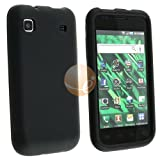 Black Gel Soft Skin Cover Case For Samsung Galaxy S 4G