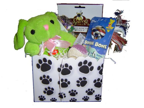 Small Dog Gift Basket Box
