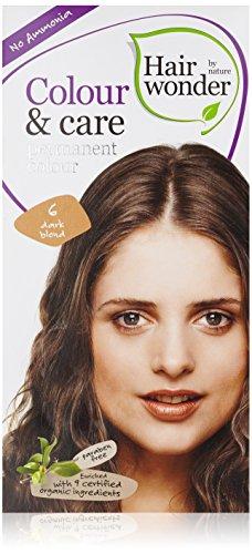 hennaplus coloration pour cheveux hairwonder colour care 100 ml 6 dark bold - K Pour Karit Coloration