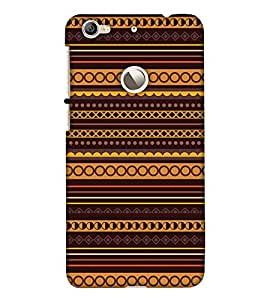 Print Haat Back Cover for LeTV 1S (Multi-Color)