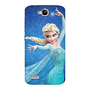 Impressive Angel And Cutness Back Case Cover for Honor Holly